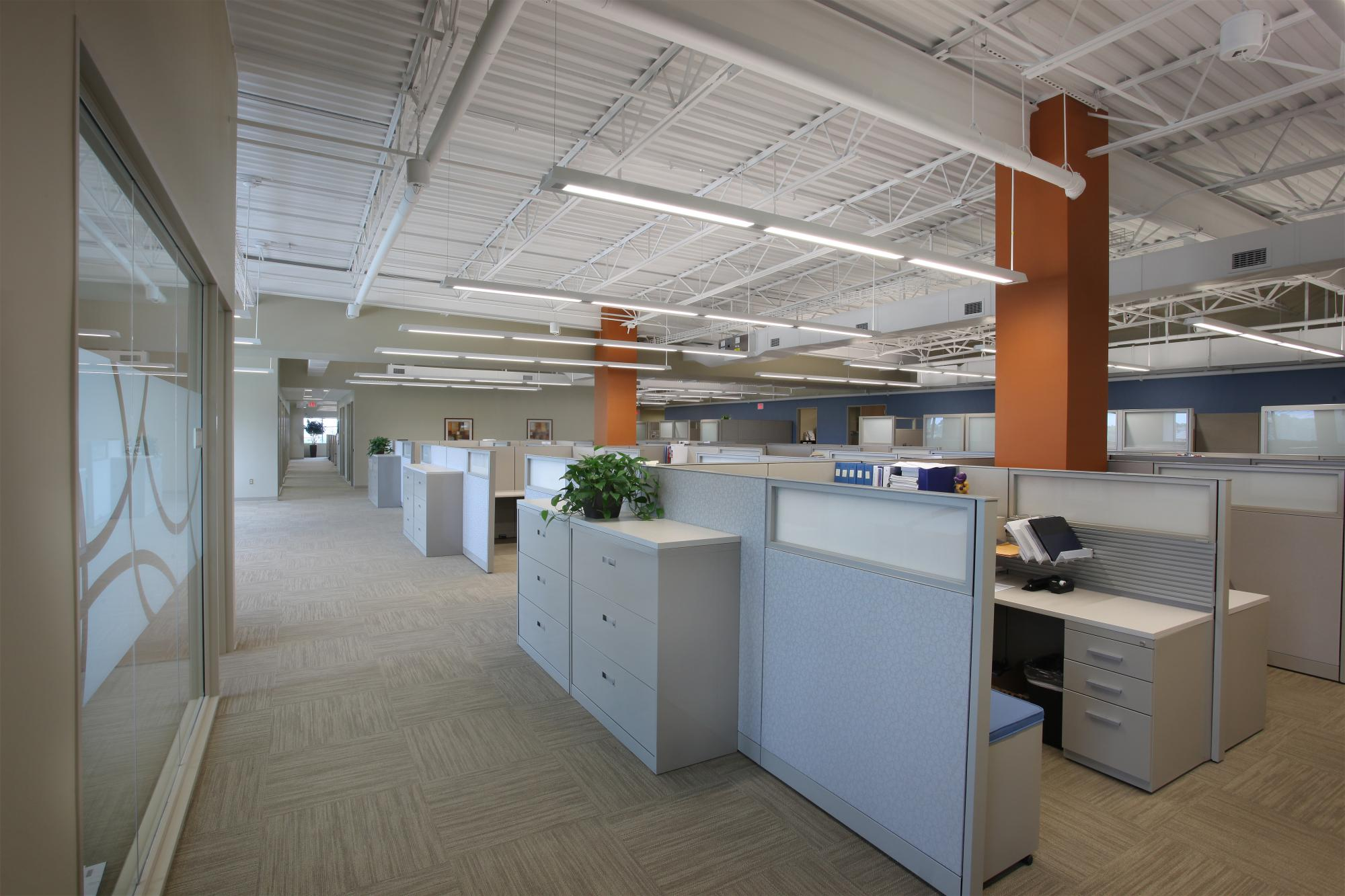 Lutz company office fit out d r anderson for Office fit out companies
